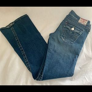 Denim - TRUE RELIGION WOMEN'S JOEY FLARE JEANS SIZE 29.